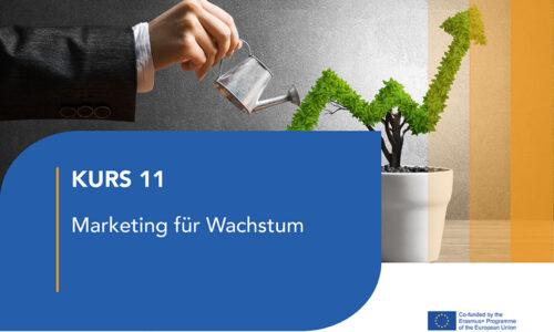 Modul – 11 Marketing für Wachstum