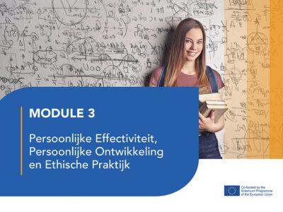 LJ3: Persoonlijke Effectiviteit, Persoonlijke Ontwikkeling en Ethische Praktijk