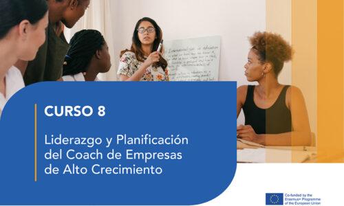 Curso 8- Liderazgo y Planificación  del Coach de Empresas de Alto Crecimiento