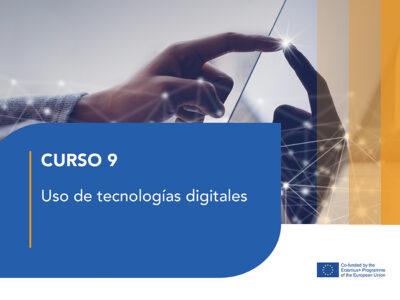 Curso 9 – Uso de tecnologías digitales